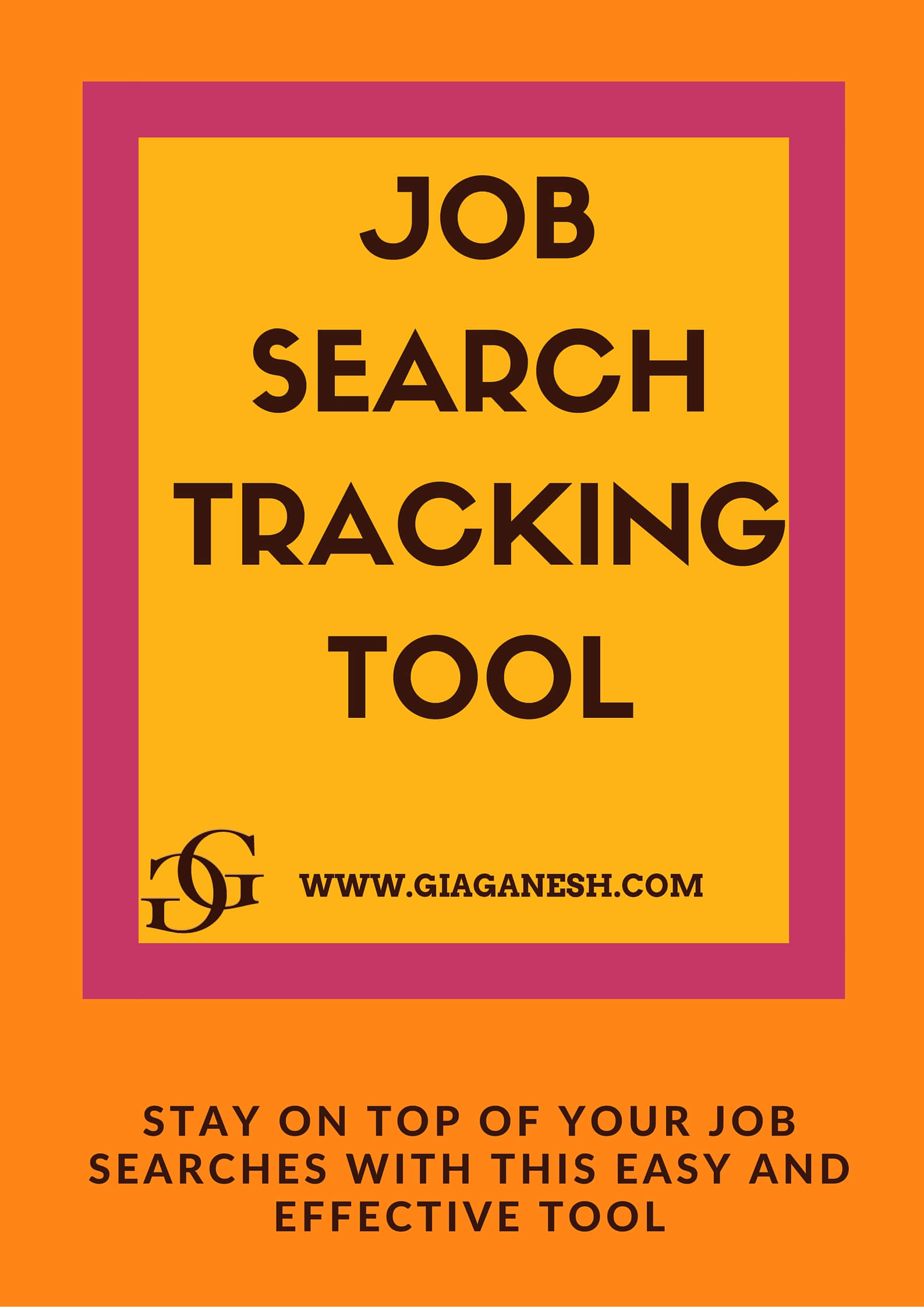 JOB SEARCH TRACKING TOOL